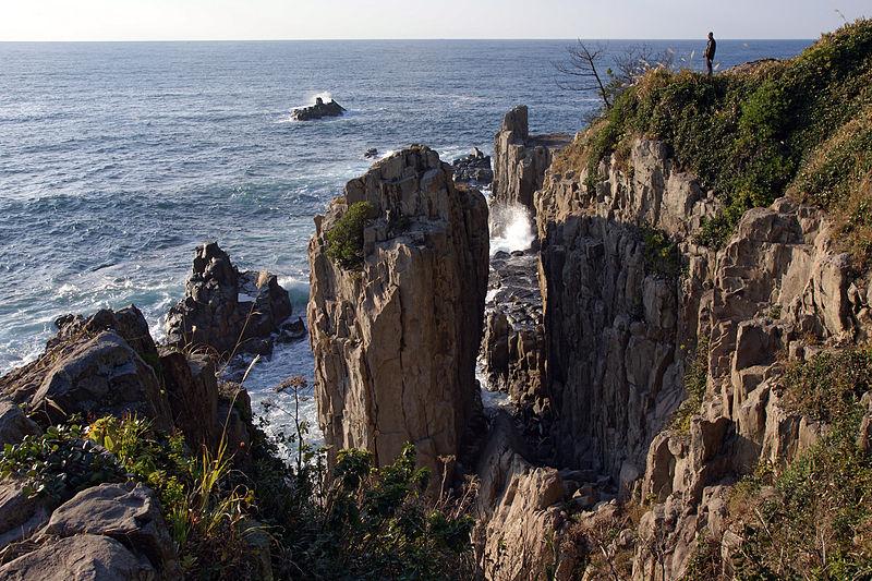 Tojinbo Rosoku rocks